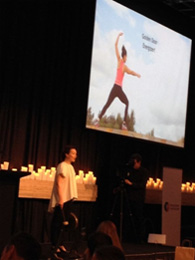 Brigid Walsh shares insights to 300 delegates at the Conscious Capitalism Summit in Sydney